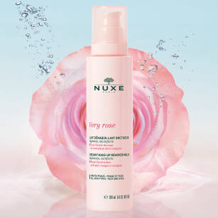 NUXE Very rose Kremowe mleczko do demakijażu 200 ml